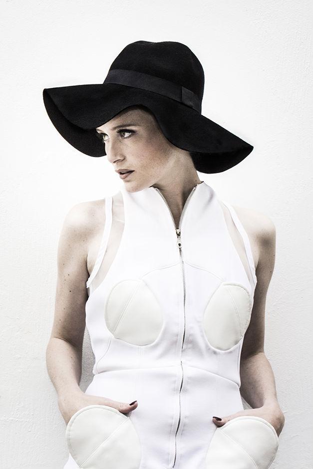 MARINE HENRION ® | Official Site | Futuristic fashion designer Lou by Emma Burlet