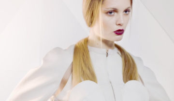 MARINE HENRION ® | Official Site | Futuristic fashion designer White And See - Nicolas May
