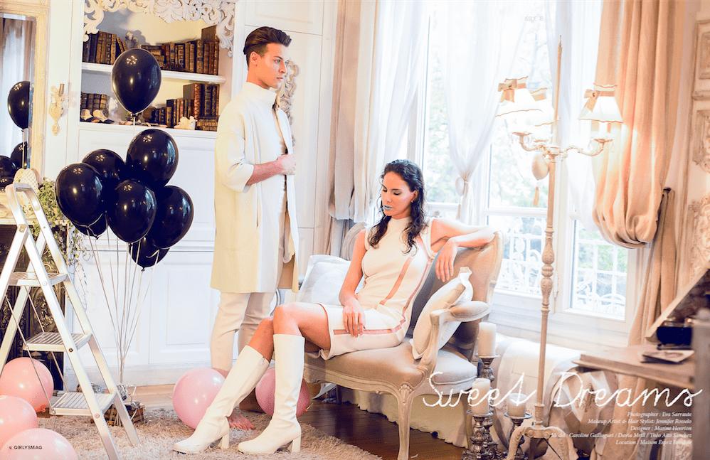 MARINE HENRION ® | Site Officiel | Créatrice de mode futuriste Girlyz Magazine - 2016
