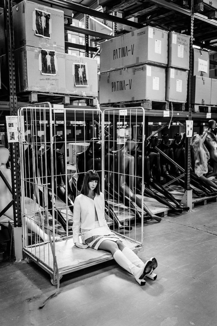 "MARINE HENRION ® | Site Officiel ""Like a Mannequin"" par Woo Jung Park"