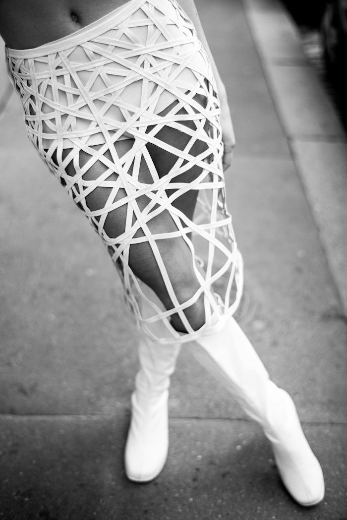 MARINE HENRION ® | Site Officiel | Créatrice de mode futuriste Soben Giordano