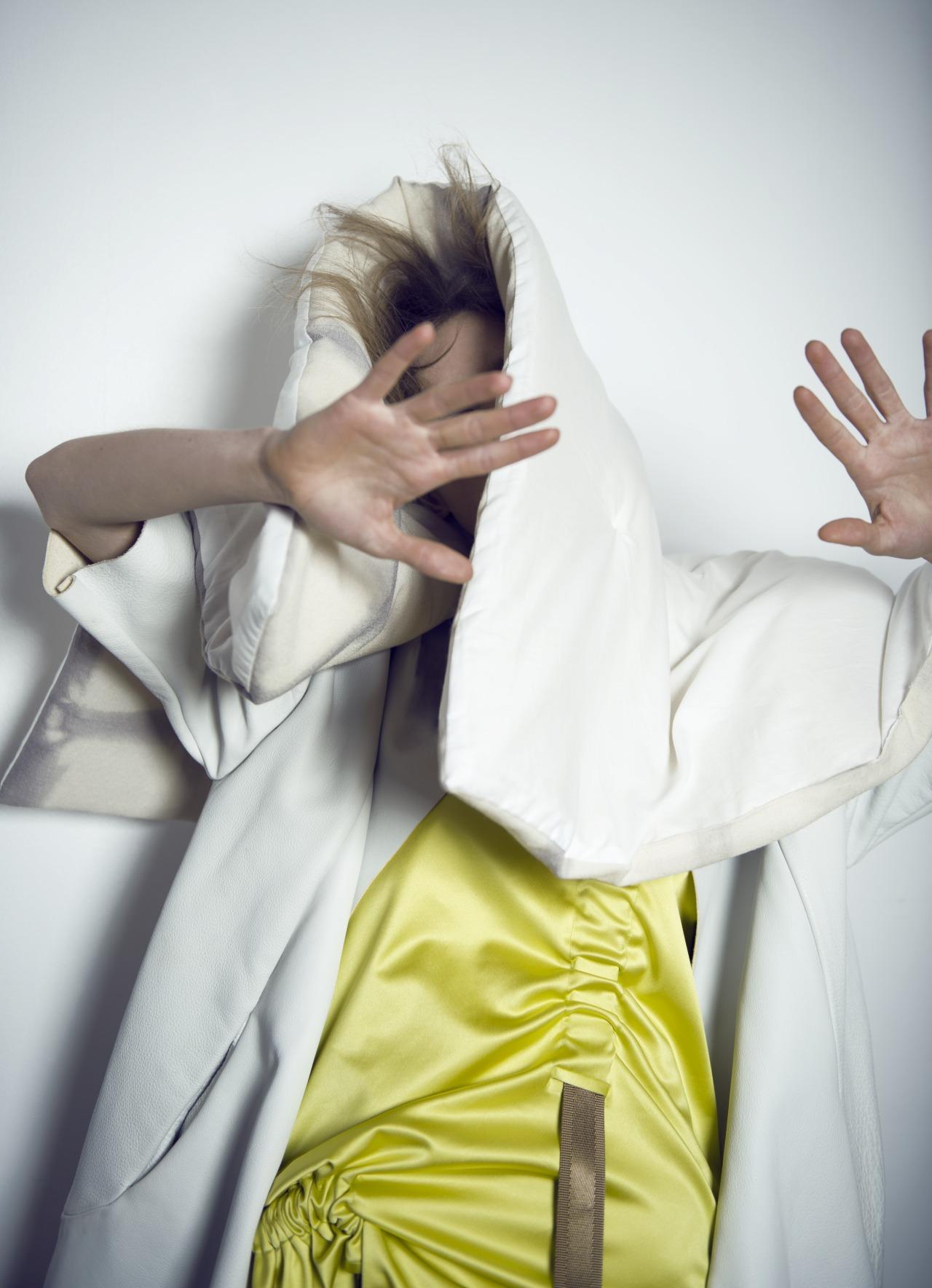 MARINE HENRION ® | Site Officiel | Créatrice de mode futuriste SATELLITE MAGAZINE - 2016