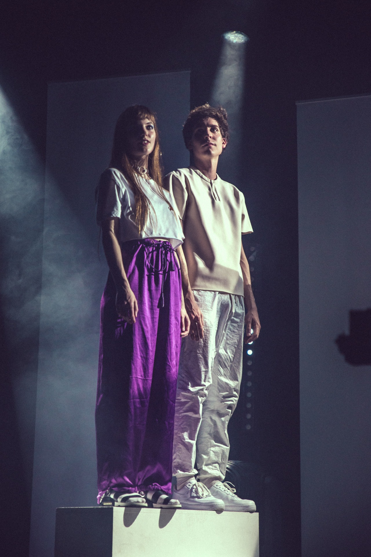 MARINE HENRION ® | Official Site | Futuristic fashion designer The Pirouettes at La Cigale