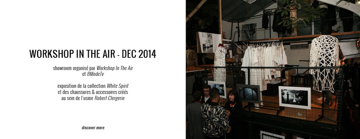MARINE HENRION ® | Site Officiel  Workshop in the air - December 2014