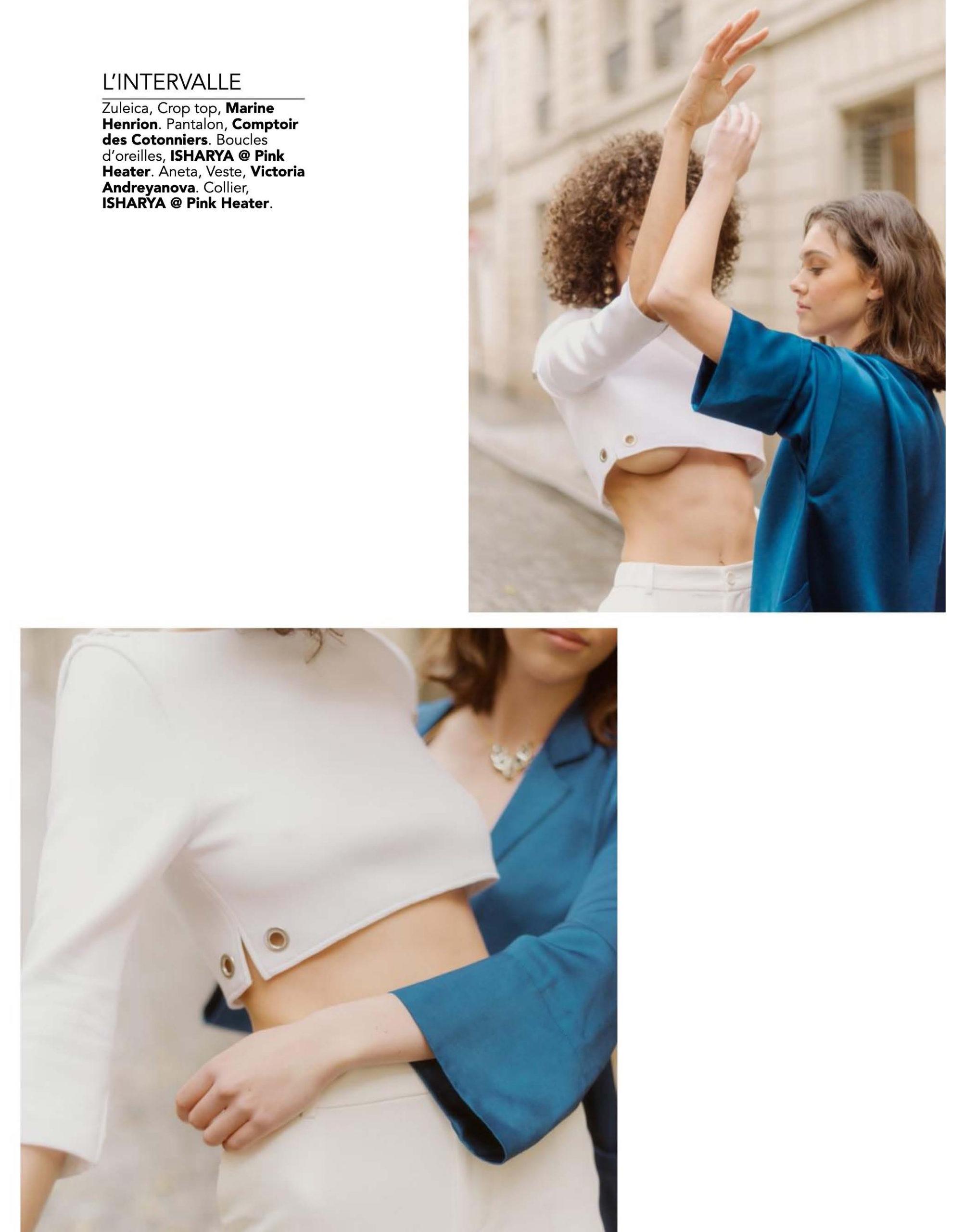 MARINE HENRION ® | Site Officiel | Créatrice de mode futuriste Kodd Magazine - 2019
