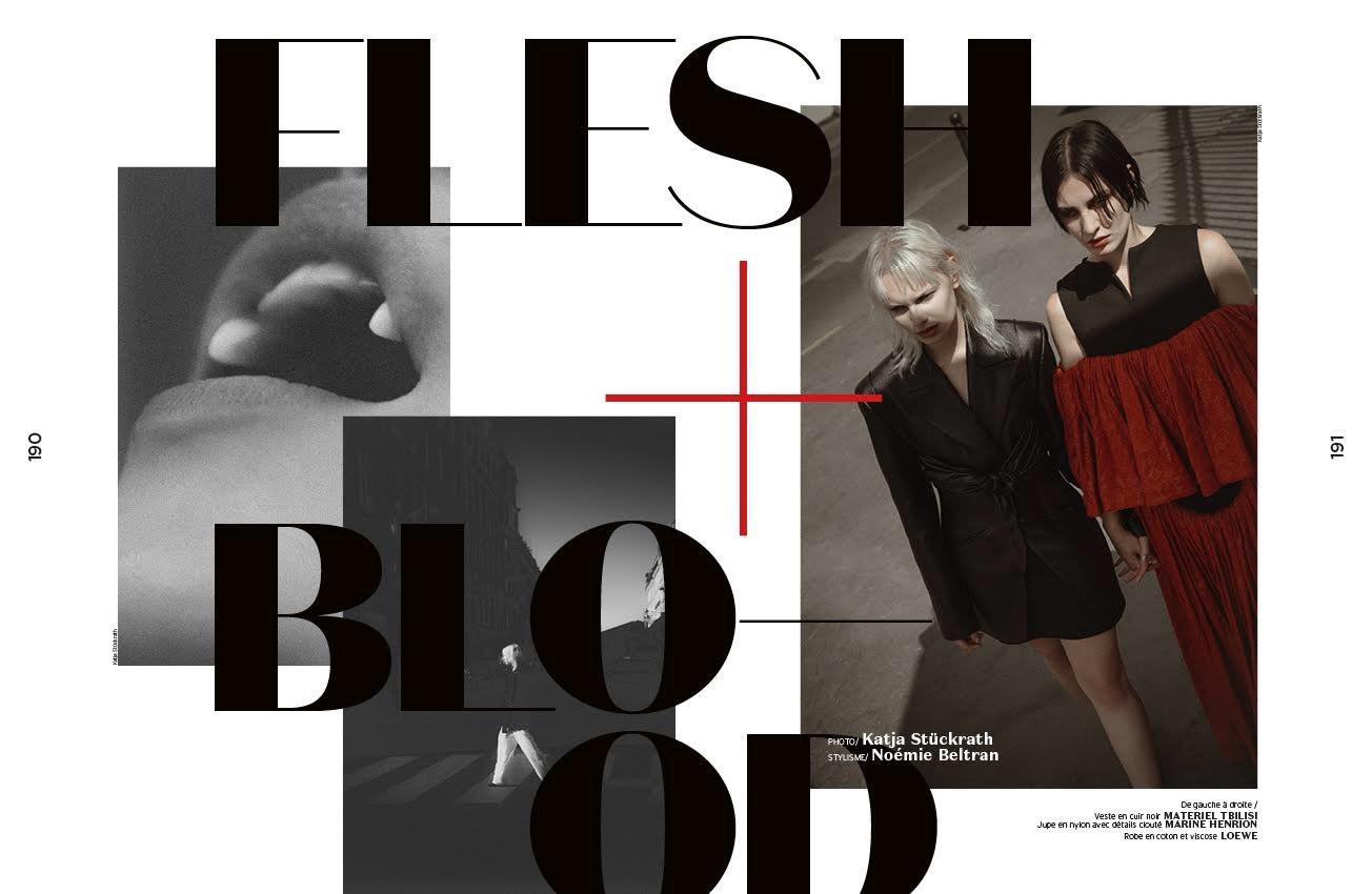 MARINE HENRION ® | Site Officiel | Créatrice française à la mode éthique et minimaliste French Magazine