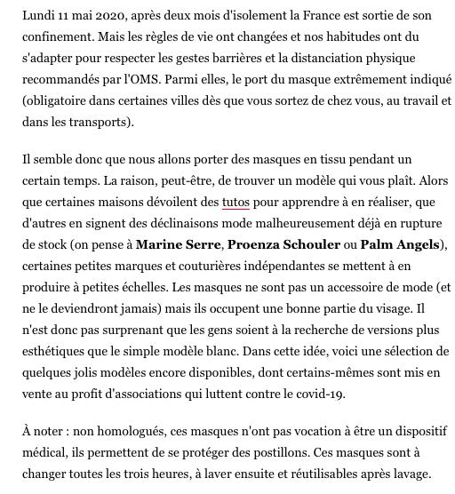 MARINE HENRION ® | Site Officiel | Créatrice française à la mode éthique et minimaliste Vogue.fr